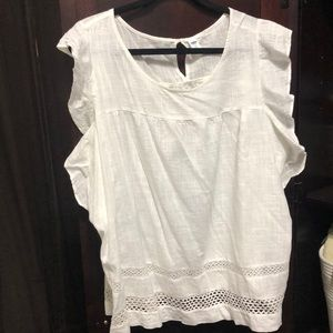 White blouse style top